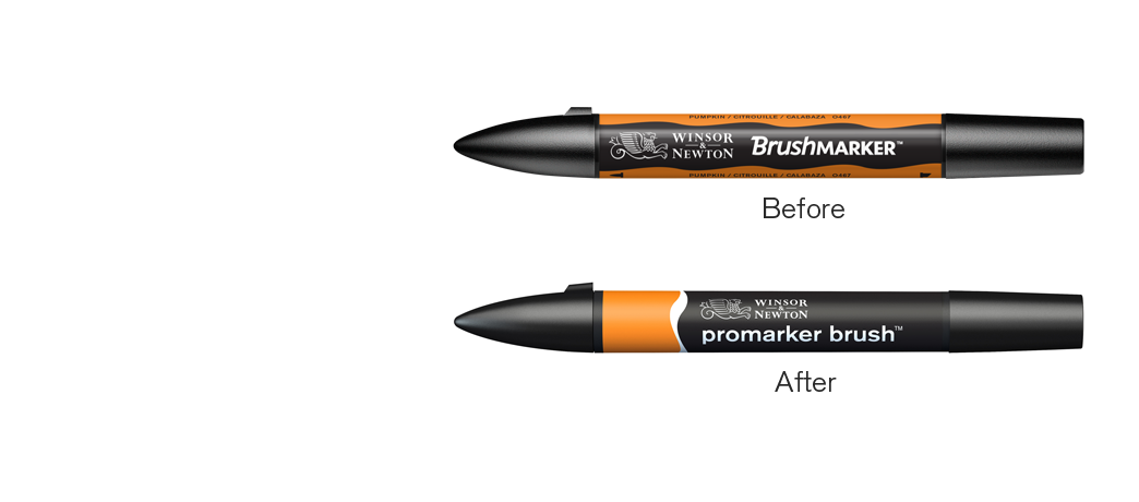 Brushmarker<br>becomes<br>Promarker Brush