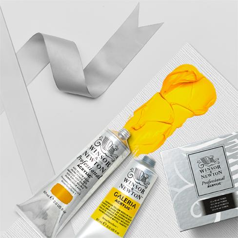 Acrylic colour sets