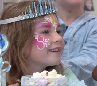 SNOW PRINCESS BIRTHDAY PARTY IDEAS