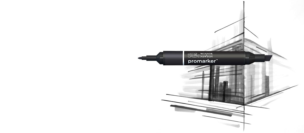 New Promarker<br>Black & Blender sets